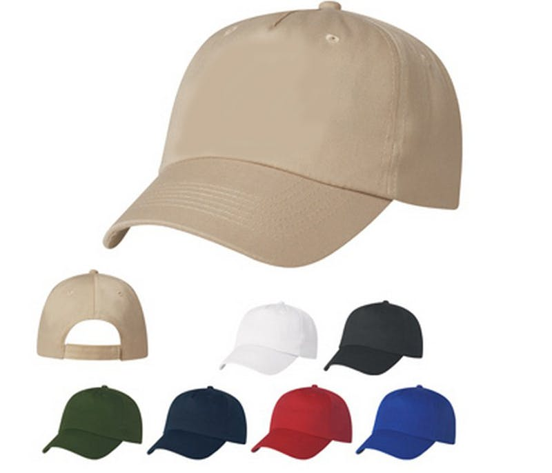 100% Cotton Twill Baseball Cap (Item # DBMQS-JVKGL) Baseball cap sold by InkEasy