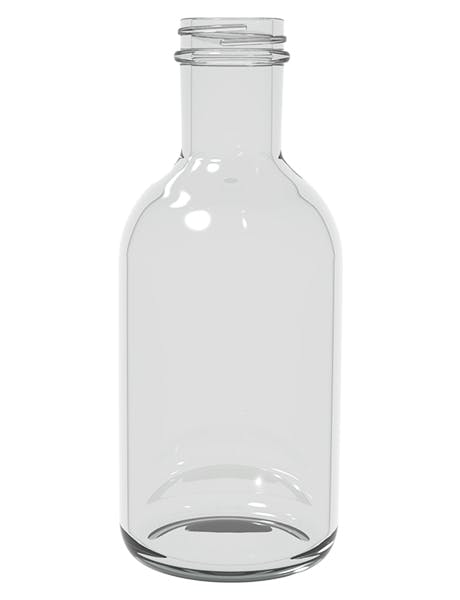38-405  12 oz stout glass bottle  2652 bottles per pallet ( 221 cases x 12 ) Glass bottle sold by Inmark Packaging