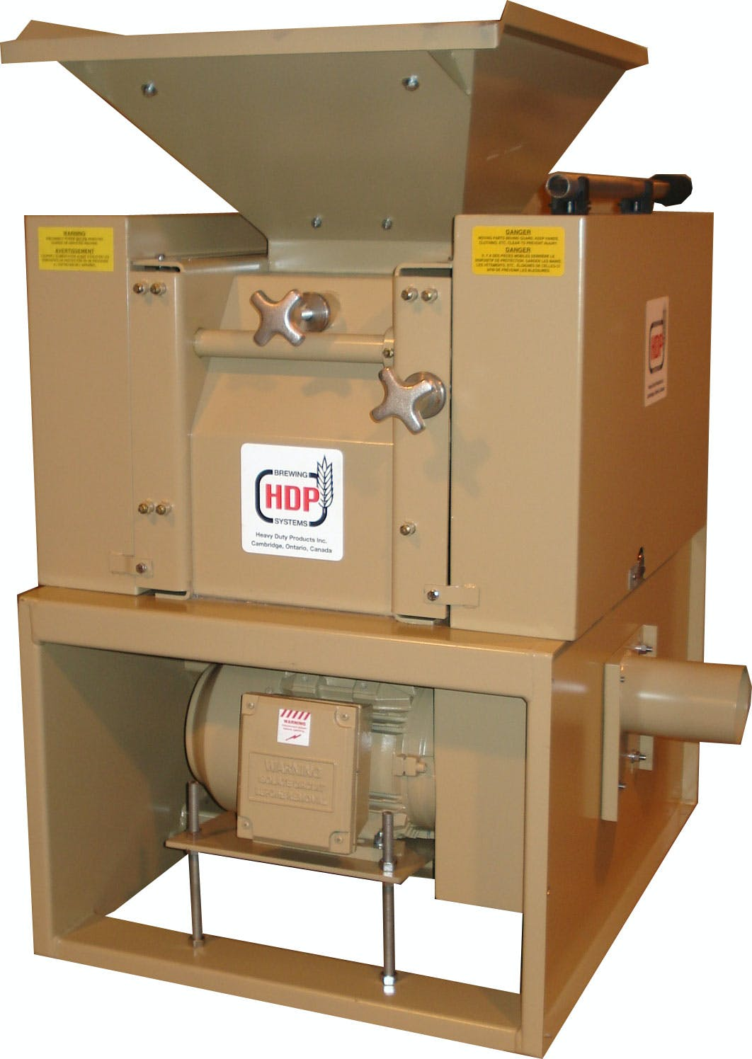 SR 1010 Malt Mill Malt mill sold by HDP Brewing Systems