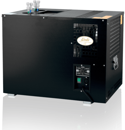 Bewerage Chiller AS 110 with  pump up to 26 Ft Draft beer system sold by Tap Your Keg, LLC