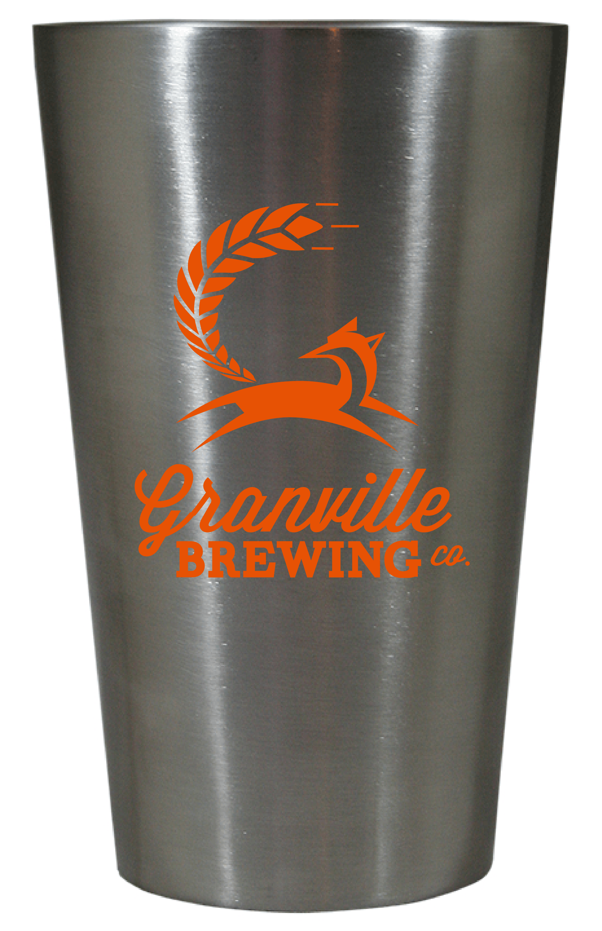 16 oz. Double Wall Thermal Stainless Steel Pint Promotional product sold by Prestige Glassware