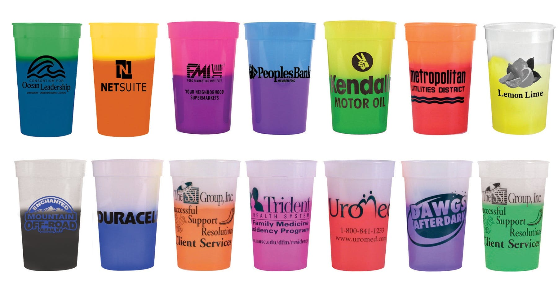 17 Oz. Color Changing Cup (Item # QHLIM-DMBKF) Plastic cup sold by InkEasy