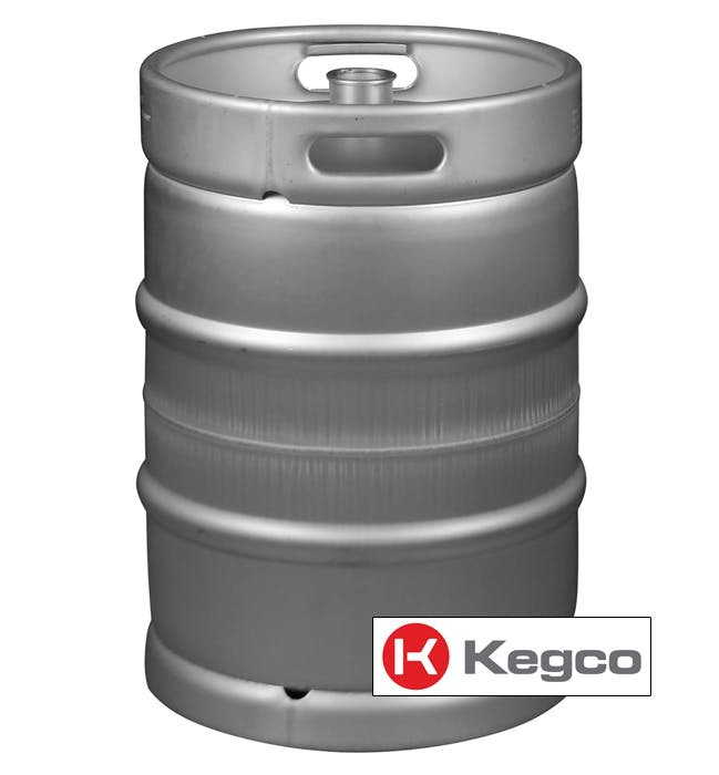 15.5 Gallon (1/2 Barrel) Commercial Kegs - Drop-In D System Sankey Valve Keg sold by Beverage Factory