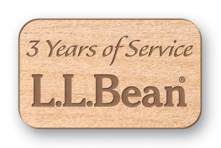 Laser Engraved Wood Lapel Pins (Item # CJLMM-HPMGB) Lapel pin sold by InkEasy