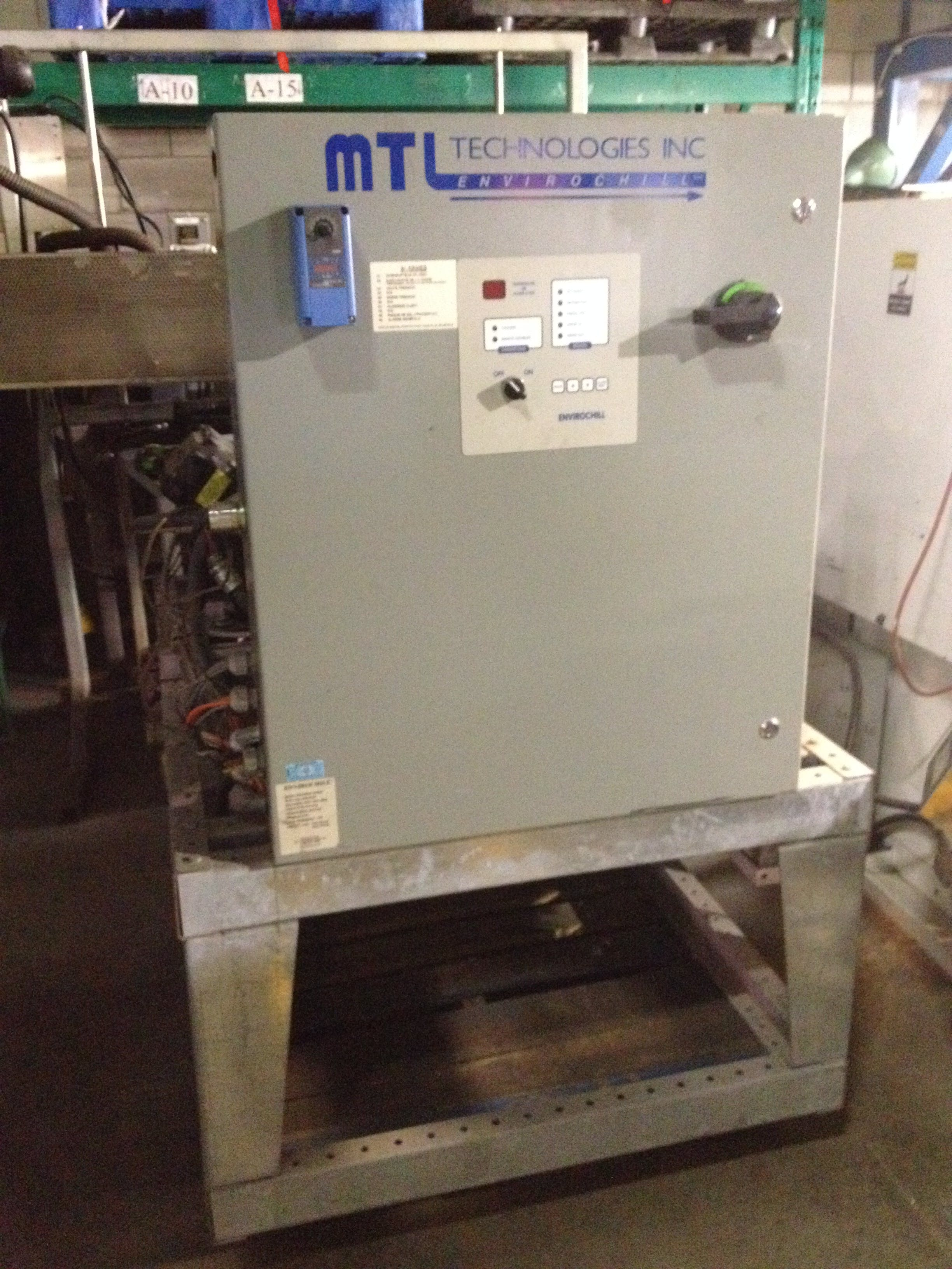 MTL ENVIROCHILL Amoniac Chiller Glycol chiller sold by Aevos Equipment
