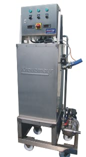 Flash Pasteurizer Pasteurizer sold by Juicing Systems
