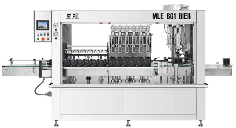 GAI MLE 661 BIER Bottling machinery Bottling machinery sold by Prospero Equipment Corp.