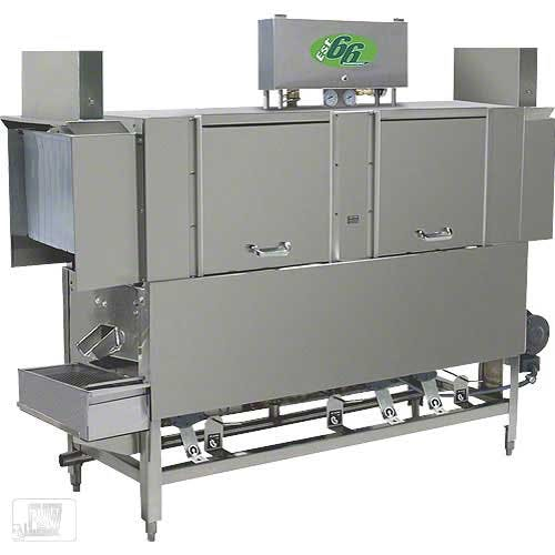 CMA Dishmachines - EST-66L 243 Rack/Hr Low Temp Conveyor Dishwasher Commercial dishwasher sold by Food Service Warehouse