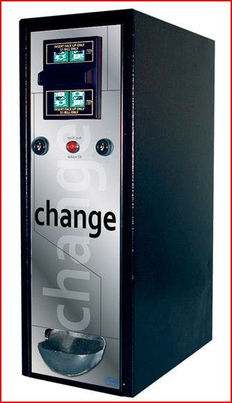Dollar Bill Changer - Model CM1050 - NEW Vending machine sold by MEGAvending.com