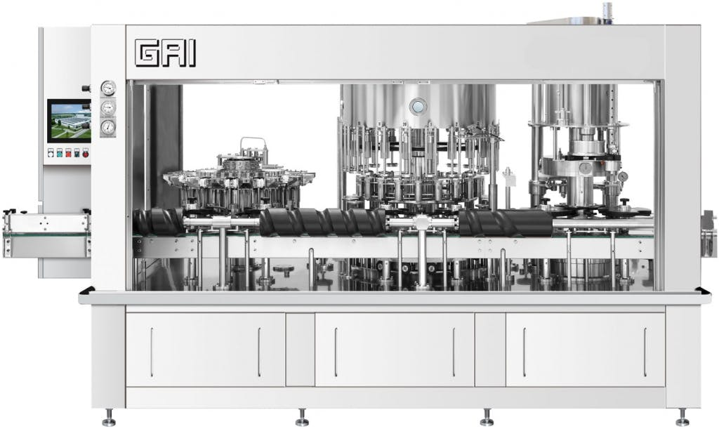 GAI 4003TOP-R0 Bottling machinery Bottling machinery sold by Prospero Equipment Corp.