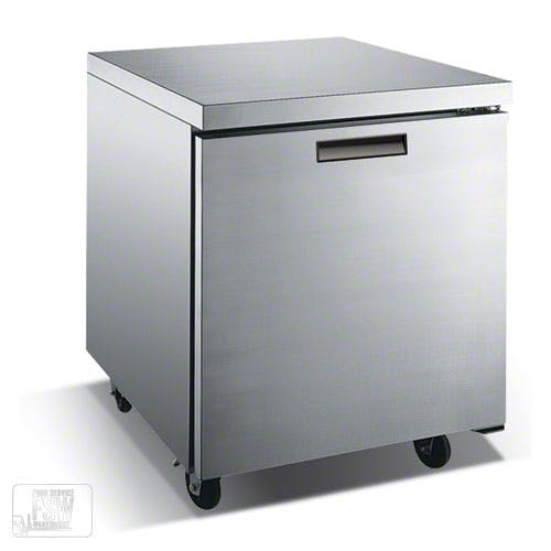 "Metalfrio ( TUC27F ) - 27"" Undercounter Freezer Commercial freezer sold by Food Service Warehouse"