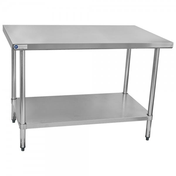"30"" x 48"" Stainless Work Table"