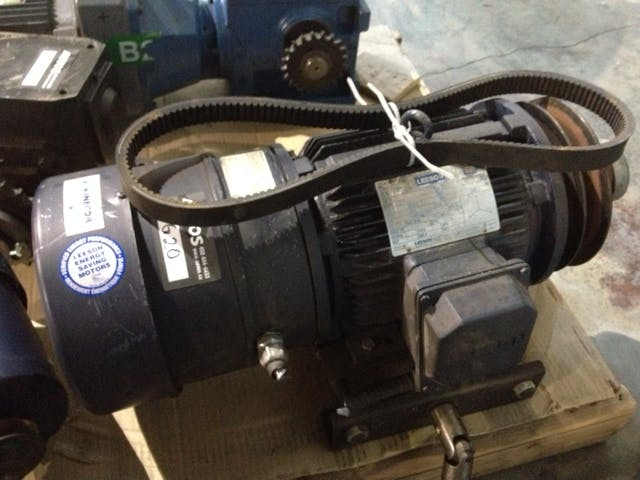LEESON N182T17EB44 electric motor with brake Motor sold by Aevos Equipment