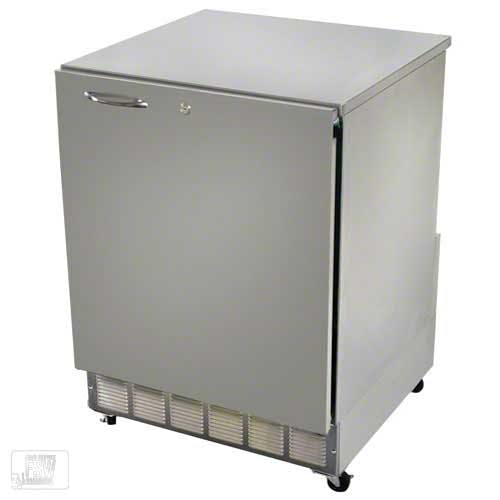 """Glastender - UCR24S-R 24"""" Undercounter Refrigerator Commercial refrigerator sold by Food Service Warehouse"""