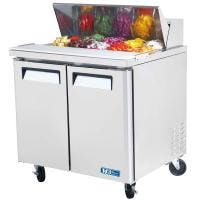 "Turbo air - MST-36 - 36"" Sandwich/Salad Prep Table Food prep table sold by Prima Supply"
