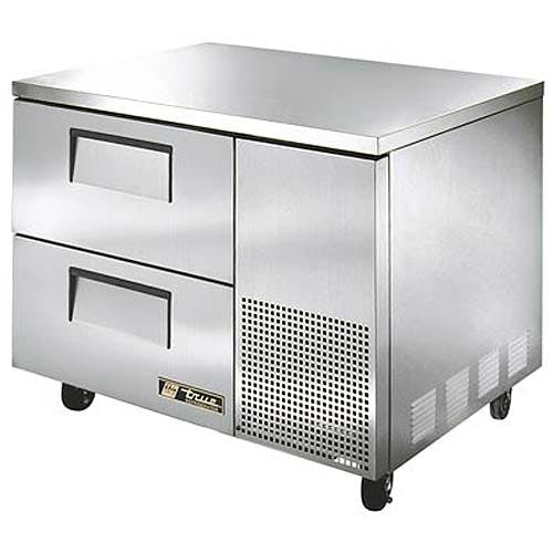 "True - TUC-44D-2 45"" Deep Undercounter Refrigerator w/ Drawers Commercial refrigerator sold by Food Service Warehouse"