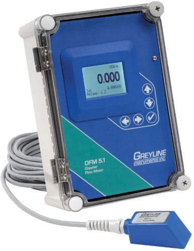 Greyline Instruments DFM 5.1 Doppler Flow Meter Flow Meter sold by Instrumart