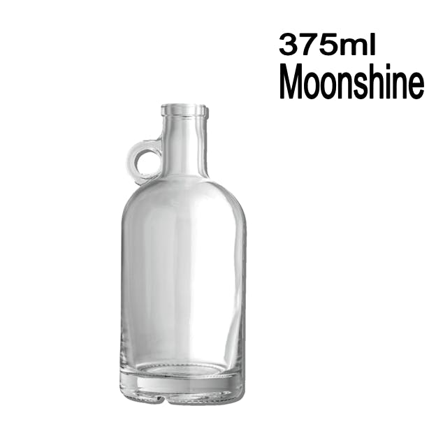 375ml Moonshine Liquor bottle sold by Wholesale Bottles USA