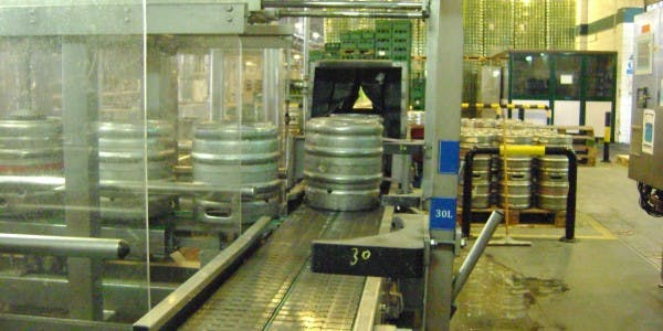 Chunnel 70 plus kegs per hour Keg washer sold by Profamo