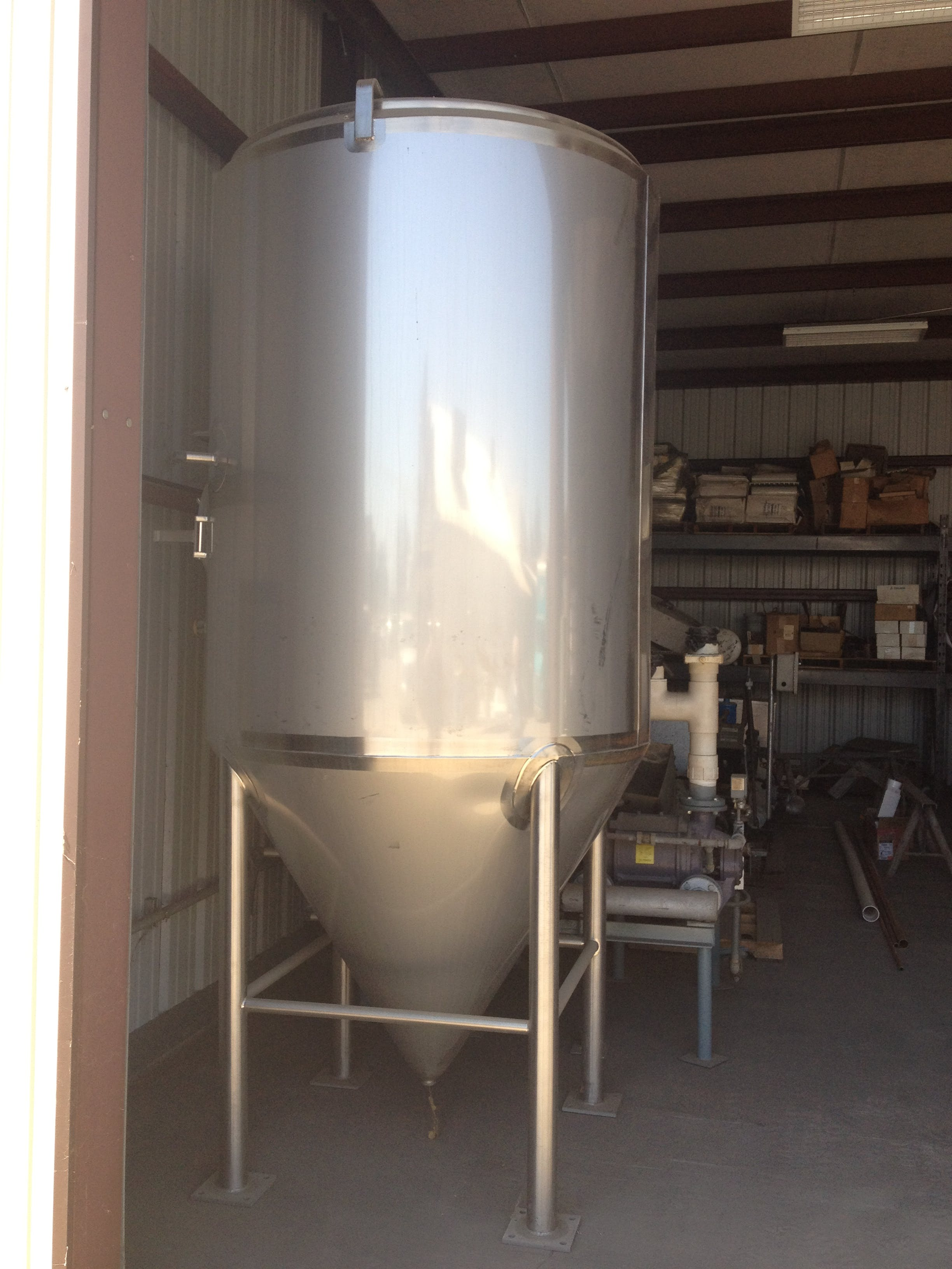 Stainless Steel Olive Oil tank  Olive oil tank sold by Hood-EIC, LLC Tank Division