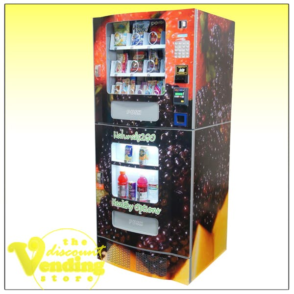 NV-2020 Healthy Combo Vending Machine Vending machine sold by The Discount Vending Store