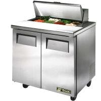 "True TSSU-36-8 - 36"" 8 Bin Sandwich/Salad Prep Table Food prep table sold by Prima Supply"