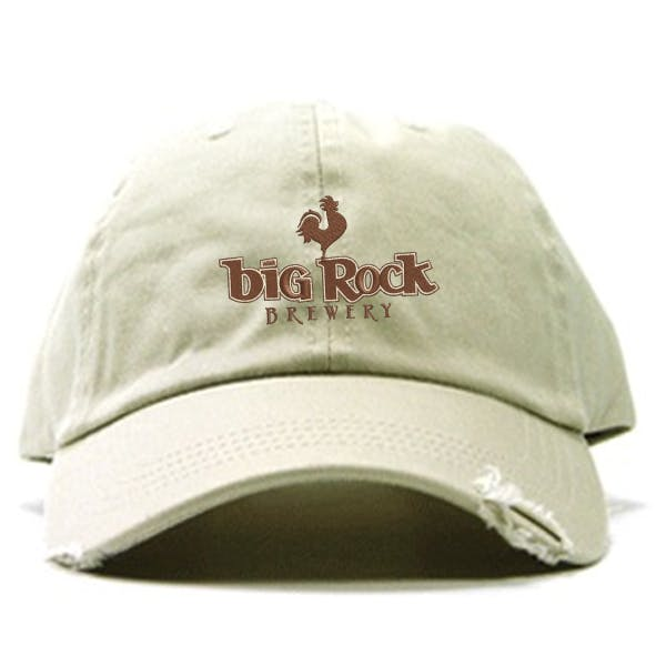 Frayed Chino Cap Promotional cap sold by MicrobrewMarketing.com