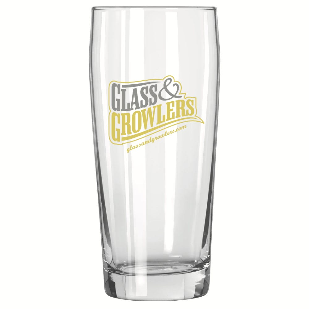 Willi Becher 20 oz Glass Beer glass sold by Glass and Growlers