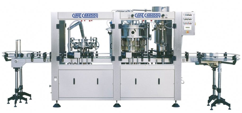 Cime Careddu GOLD DPS 12/12/1 CROWN Triblock Monoblock sold by Prospero Equipment Corp.