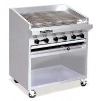 "American Range ADJF-36 - 36"" Adjust. Top Radiant Broiler w/Cart Broiler sold by Prima Supply"