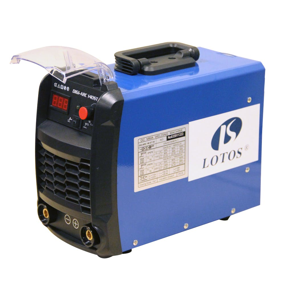 LOTOS TIG140 140Amp DC TIG / Stick IGBT Welder Dual Voltage Welder sold by LOTOS Technology