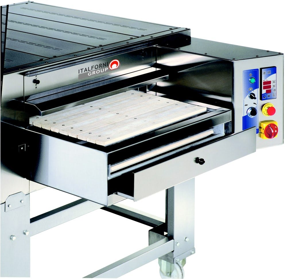 Italforni TS Series Electric Stone Conveyor Ovens Pizza oven sold by pizzaovens.com