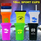 Sport Cups Plastic cup sold by 1 Custom Promotions