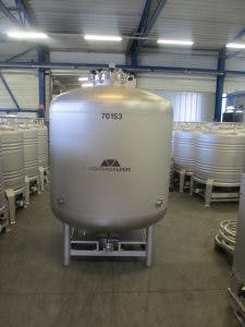 2100 Liter Flat Bottom Single Wall Fermenter