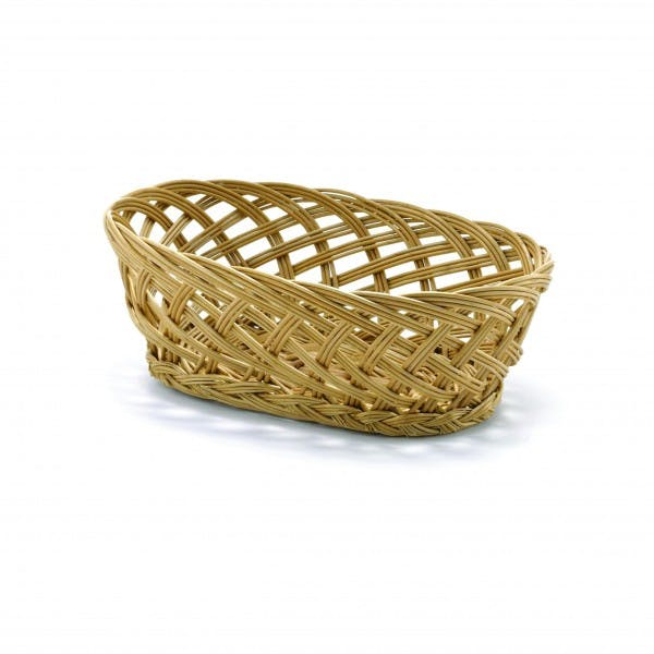 Oval Willow Bread Basket