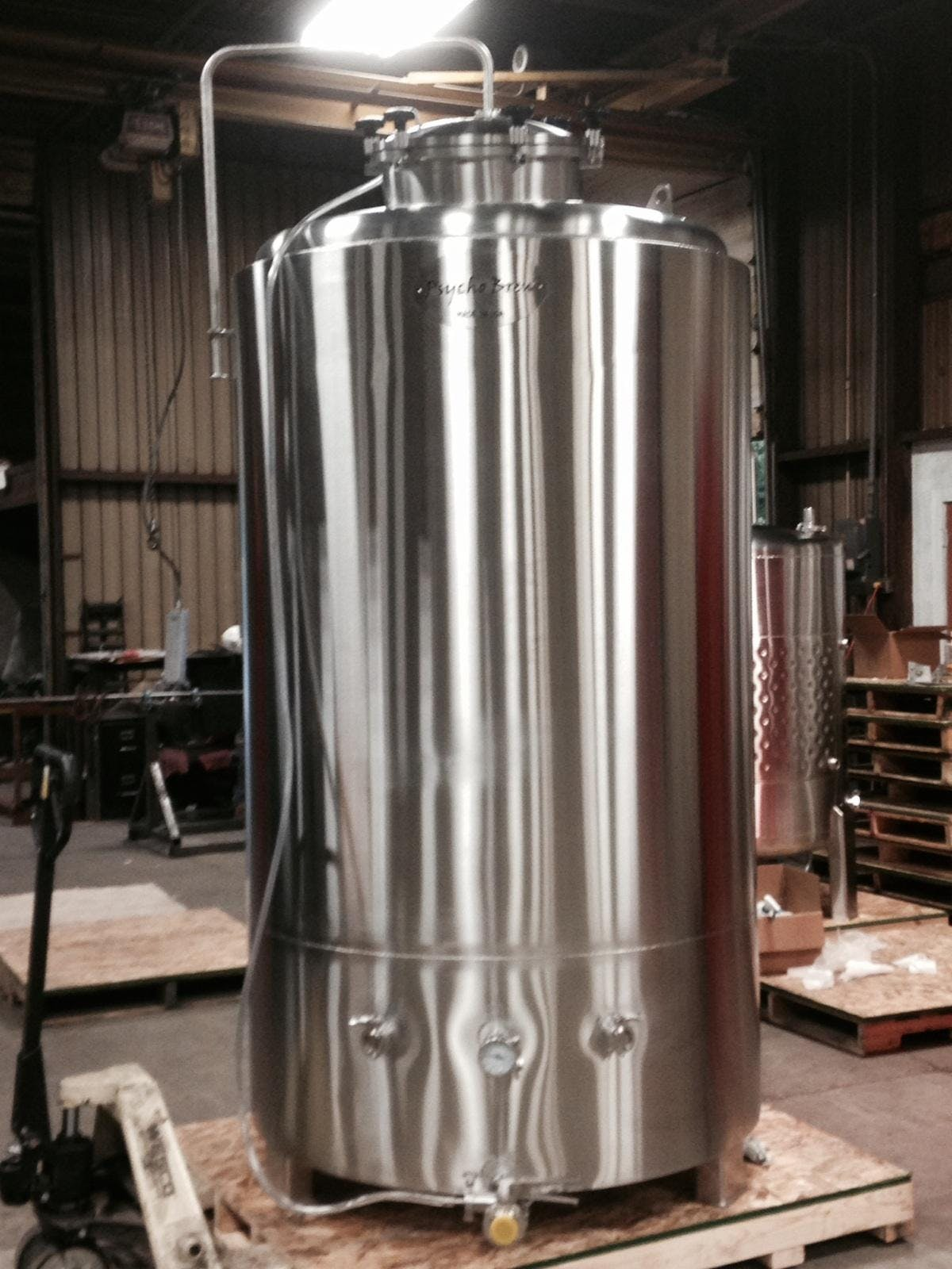 15 BBL Brite Tanks Bright tank sold by Psycho Brew