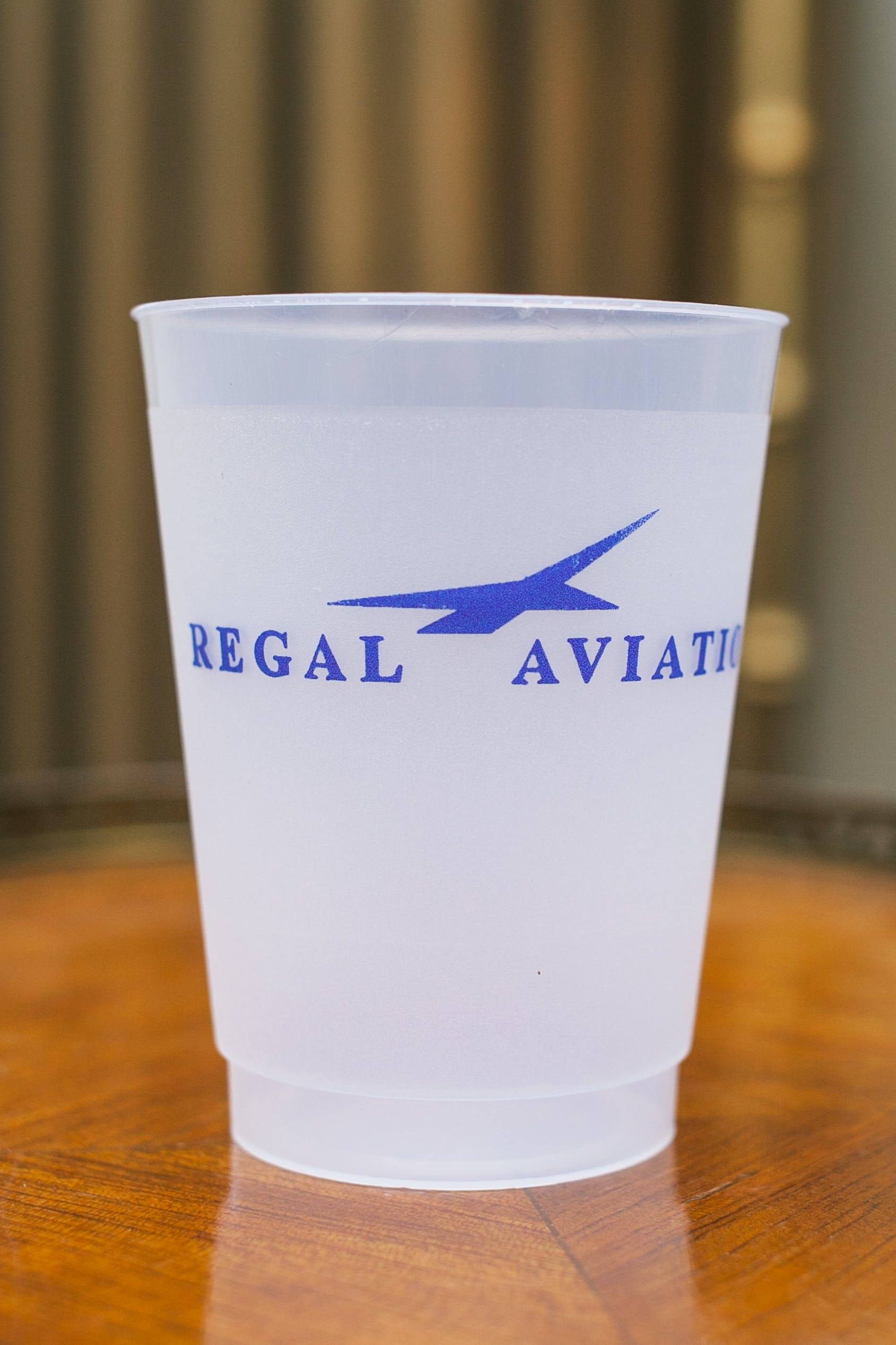 10 oz. Custom Disposable Frost Flex Plastic Cups