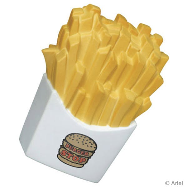 Ariel :: French Fries - LFD-FF05 Stress reliever sold by Distrimatics, USA