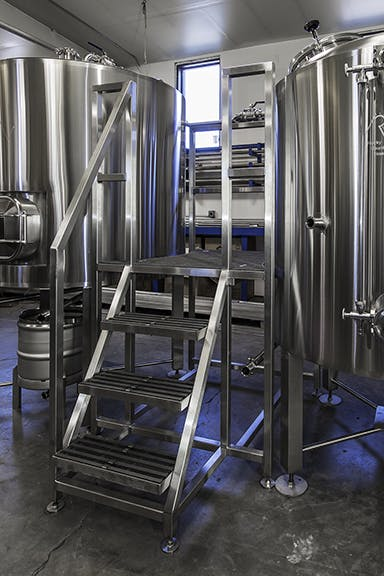Brew Decks with Water Blending Brewhouse sold by Rocky Mountain Vessels, LLC