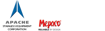 Mepaco, part of Apache Stainless Equipment Corp. logo