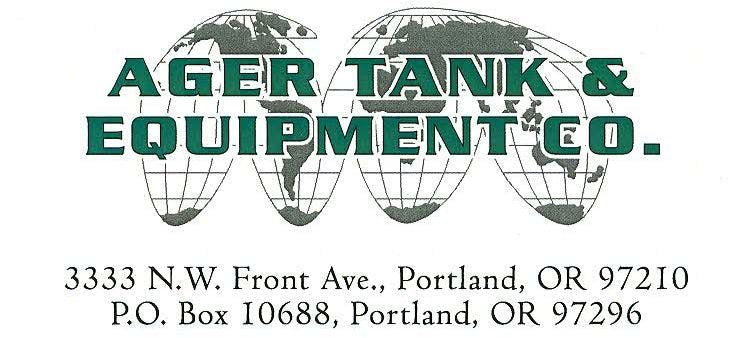 Ager Tank & Equipment Co. logo