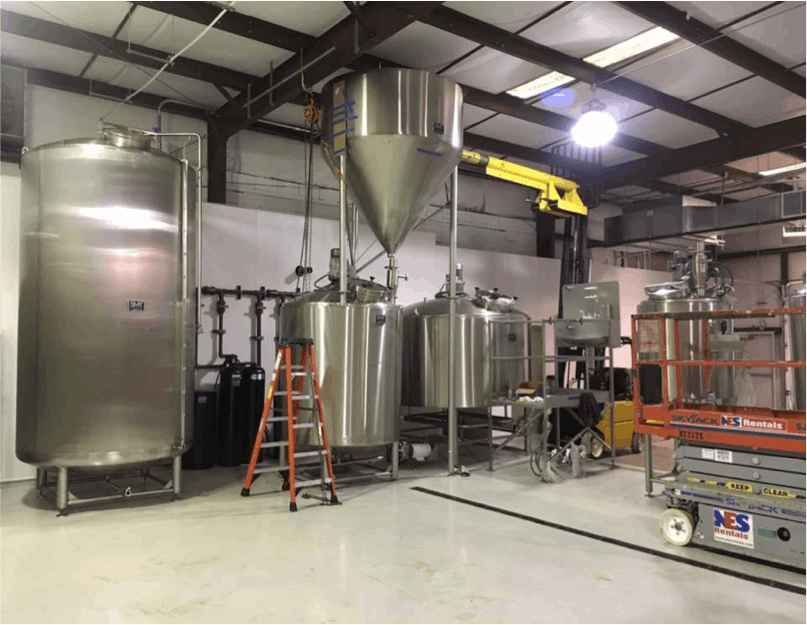 200BBL Brite Beer Tanks - sold by Smart Machine Technologies, Inc