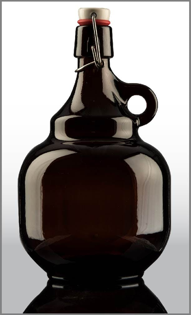 2L Swingtop Growler AM SW FB #M-3451-01R1 - sold by Universal Packaging