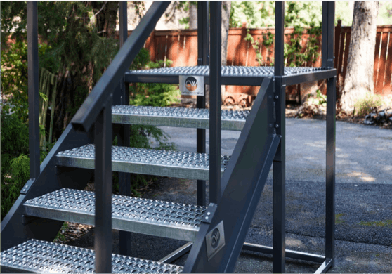 Stair Platforms - sold by CoffeeWorks, Inc