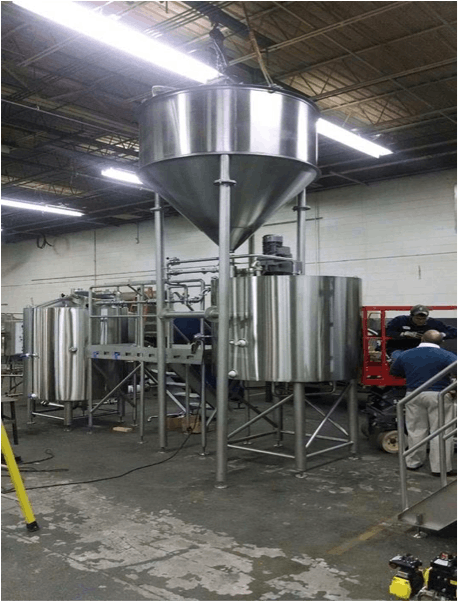 50BBL Brewhouse - sold by Smart Machine Technologies, Inc