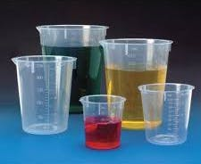 Disposable beakers