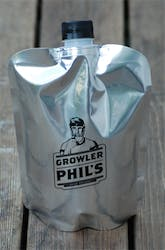 Growler pouches