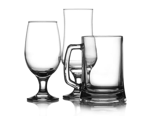 Glass Beer Glasses and Mugs