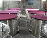 Winery equipment covers