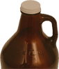 Growler: screw-cap seal